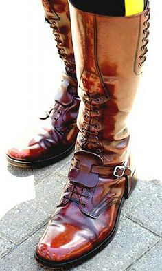 Canadian Mountie boots