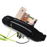 """#1 TOP RATED RUNNER BAG, Atelic® Waist Pack Running Bag Belt Pouch Men Women Water Resistant Reflective Runner for Running Hiking Trip Pack Fitness Gym Outdoor Cycling Apple iPhone 6 Plus Samsung HUAWEI Big 6"""" Smartphone - http://trolleytrends.com/health-fitness/1-top-rated-runner-bag-atelic-waist-pack-running-bag-belt-pouch-men-women-water-resistant-reflective-runner-for-running-hiking-trip-pack-fitness-gym-outdoor-cycling-apple-iphone-6-plus-samsung"""