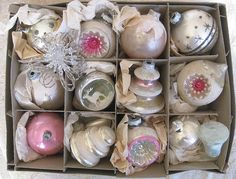 Vintage German ornaments