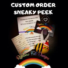 Felt Gifts, Love Rainbow, Facebook Sign Up, Small Businesses, Bees, Knowing You, Festive, Hat, Messages