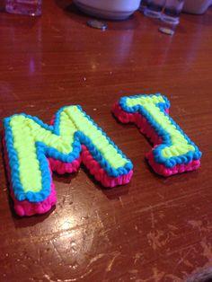DohVinci art - design - letters - M J - maco brunet - DIY - doh vinci - hasbro