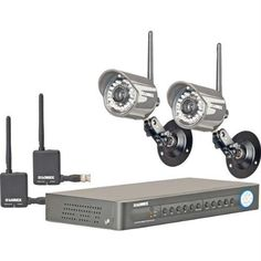 Lorex 4-Channel Security DVR with 2 Wireless Cameras and 500GB by Lorex. $614.48. BNC & VGA outputs. 4 audio inputs. USB flash & USB HDD backup. Free Lorex DDNS service.