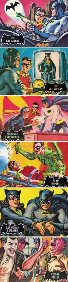 1966 Topps Batman Trading Cards