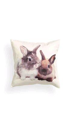 Bunnie cushion cover $13