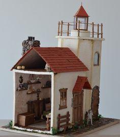 Дом у маяка.. – 35 фотографий Lighthouse, Cabin, House Styles, Home Decor, Toys, Bell Rock Lighthouse, Activity Toys, Light House, Cabins
