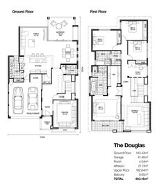 find this pin and more on dream house the douglas double storey designs - Double Storey House Plans