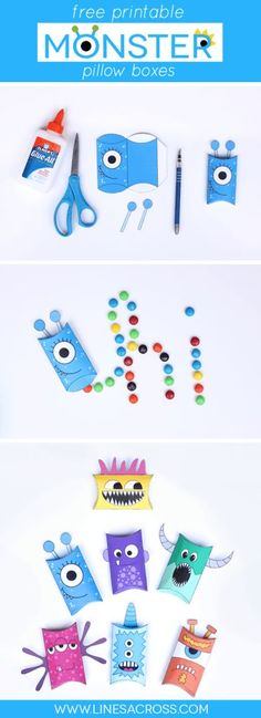 Monsters Coloring Page | The Parent Teacher Connection! | Pinterest ...