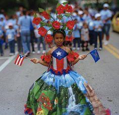 Traje tipico de Puerto Rico