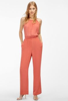 Adelyn Rae Heidi Halter Jumpsuit Women's Jumpsuit & Rompers One Piece Halter Jumpsuit, Black Jumpsuit, Donna Ricco, Mode Chic, Dressy Dresses, Trina Turk, Jumpsuits For Women, Short, Pink Ladies