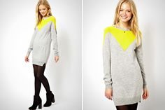 22 Sweater Dresses to Wear Before Winter is Over via Brit + Co.