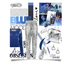 """""""Blue and Siver with YOINS"""" by lacas ❤ liked on Polyvore featuring Converse, Loeffler Randall, blueandsilver and yoins"""