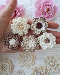 902 вподобань, 5 коментарів – I'm Vita, Ukraine. (@crochet_flowers_and_lace) в Instagram: «#handmadeflowers #crochetdesign #crochetdesigner #crochet #crochetflower #instacrochet #crochetlove…»
