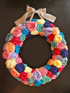 Made To Order Fabric Wreath