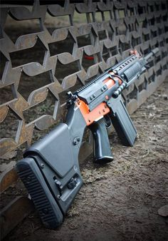 """djap-risk-management-inc: """"gunrunnerhell: """" FAL Friday Custom Cerakote finished FAL that the owner/seller says is comprised of IMBEL parts built by DSArms. Really clean and eye catching build. Rail is..."""