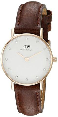 Daniel Wellington Damen-Armbanduhr XS Classy St.Mawes  Analog Quarz Leder 0900DW - http://uhr.haus/daniel-wellington/daniel-wellington-damen-armbanduhr-analog-quarz-15