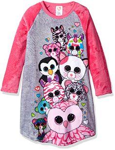 Girls' Ty Beanie Boo Raglan Nightgown