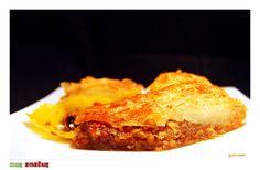 ΜΠΑΚΛΑΒΑΣ ΓΙΟΡΤΙΝΟΣ ~ una cucina Greek Recipes, Lasagna, French Toast, Breakfast, Ethnic Recipes, Food, Morning Coffee, Essen, Greek Food Recipes
