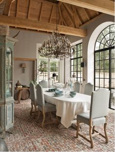 dining room - would never leave this room