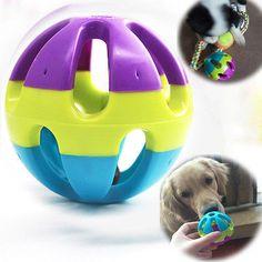 Pet Dog Puppy Dental Teething Healthy Teeth Chew Training Play Ball Game Toy Fun