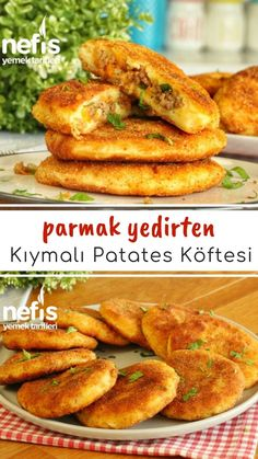 Patates Köftesi ( Kıymalı) (videolu) - Nefis Yemek Tarifleri How to Make Potato Meatballs (With Minced Meat) (Video) Recipe? Yummy Recipes, Keto Recipes, Dinner Recipes, Yummy Food, Potato Recipes, How To Make Potatoes, Potato Patties, Mince Meat, Pasta