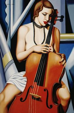 Catherine Abel | Woman with Cello
