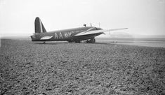 'Black and white negative, Vickers Wellington [Bicester?]', Paul Nash 1940 - part of the digitised collection of the Tate Archive
