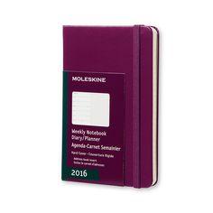 12 mesi - Agenda Settimanale con spazio per note - Moleskine