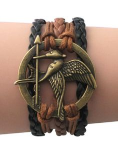 Catching Fire Wrap Bracelet #hungergames