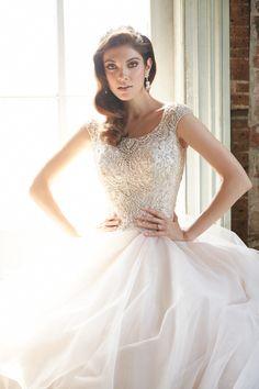 Bridal Fashion Week Sneak Peek with Allure Bridals: http://www.stylemepretty.com/2015/10/12/bridal-fashion-week-sneak-peek-with-allure-bridals/