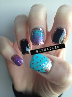 Chelsea's Get Nailed - Gradients & Glitter