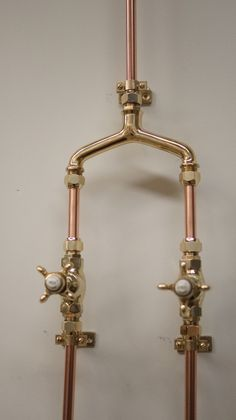 Solid Brass Shower Mixer