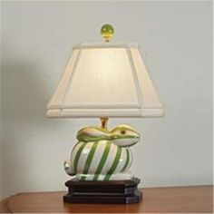 Ceramic Bunny Table Lamp - 5 colors by geneva