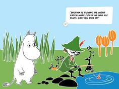 Moomin and the Lost Belongings - one of the Best Storybooks of 2013 Can You Find It, Moomin Valley, Tove Jansson, Early Reading, Kids Story Books, Little My, Flute, Troll, Rooster