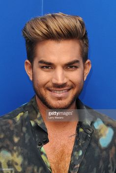 <a gi-track='captionPersonalityLinkClicked' href=/galleries/search?phrase=Adam+Lambert&family=editorial&specificpeople=5706674 ng-click='$event.stopPropagation()'>Adam Lambert</a> poses for a portrait at Radio Station Y-100 on July 13, 2015 in Miami, Florida.