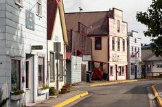 petersburg alaska  - sing lee alley shops