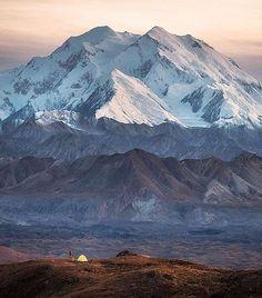 Denali National Park #Alaska  Photo: @scott_kranz #wildernessculture