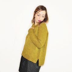 Je vous propose de découvrir une nouvelle version de mon pull Linette, un tuto tricot que vous pourrez vous aussi réaliser.