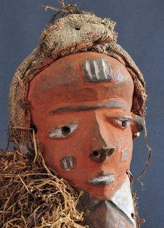Beau masque - Pende Bapende  - Rdc Congo Rdc - Mask MC0168