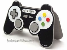 i love 2 cut paper: Games Controller