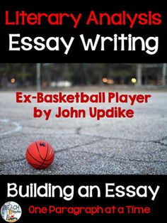 literary analysis essay graphic organizer school ideas literary analysis essay writing ex basketball player