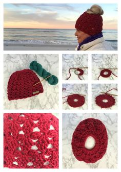 As a woman who wears her hair long, I can totally appreciate the messy bun hat movement! This is a wonderful way to accessories a messy bun or ponytail hairstyle and looking super cute in a hat at the same time! I like making them from the top down. Crochet Adult Hat, Crochet Cap, All Free Crochet, Crochet Gloves, Messy Bun, Crochet Crafts, Crochet Patterns, Knitting Patterns, Brave