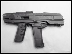 Omnicorp Weapons Division M2 Battle Rifle. Robocop