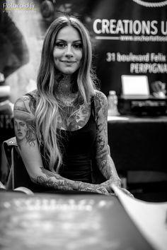 Poloroid // Paul Fauchille - Photographe > Salon du Tatouage de Perpignan 2014 - Fanny Maurer