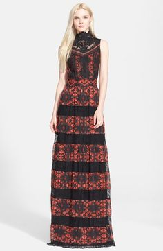Alice + Olivia 'Briella' Lace Gown available at #Nordstrom