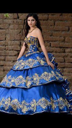 5ae58cfa142 Mariachi Quinceanera Dress