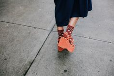Kork-Ease for Free People spotted on Natalie Off Duty
