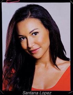 Santana Lopez season 5 Funny Girl audition portrait