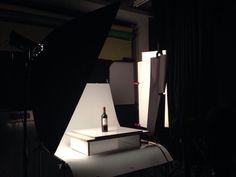 """Sesión de fotografia de producto """"de vinos"""""""