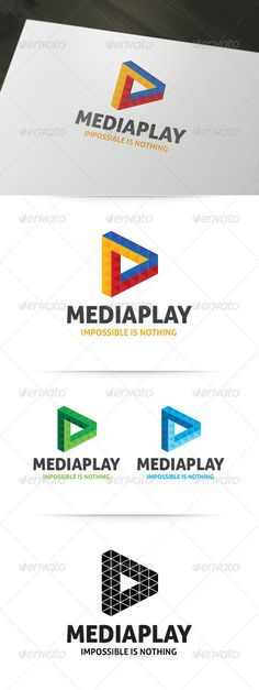 Impossible Triangle - Logo Design Template Vector #logotype Download it here: http://graphicriver.net/item/impossible-triangle-logo/6107138?s_rank=1391?ref=nexion