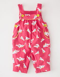 Jersey Dungarees 73124 Girls at Boden
